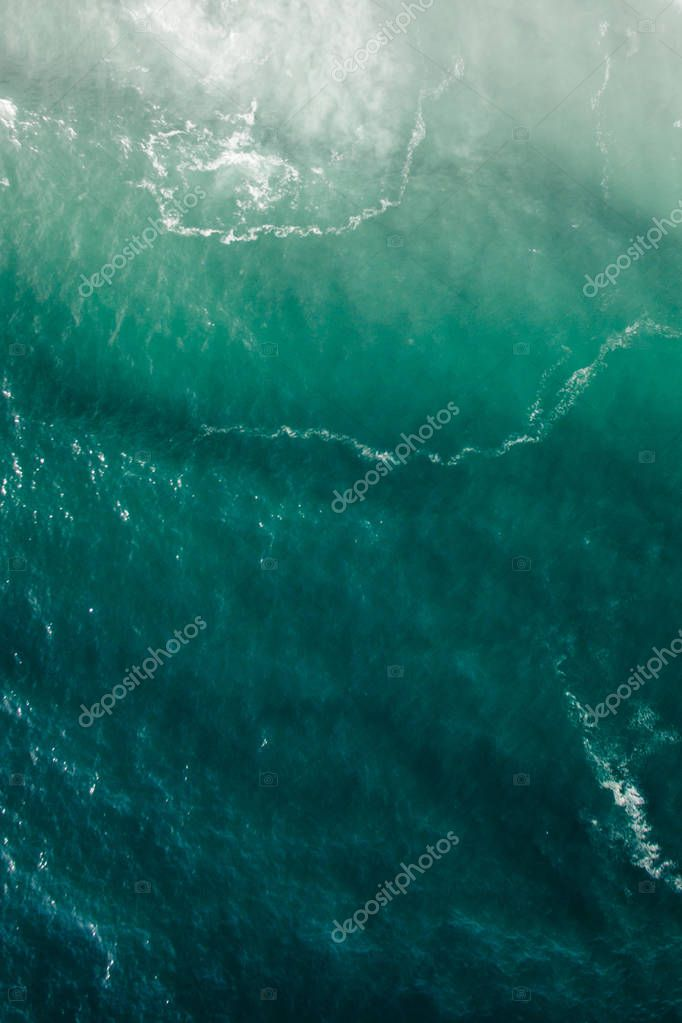 view of sea waves
