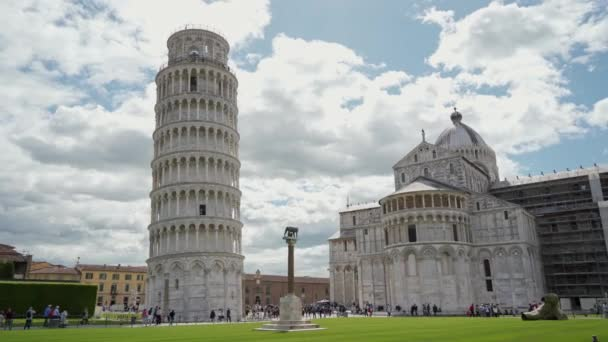 Square of Miracles, Leaning Tower of Pisa, Pisa Cathedral and Lupa Romana statue