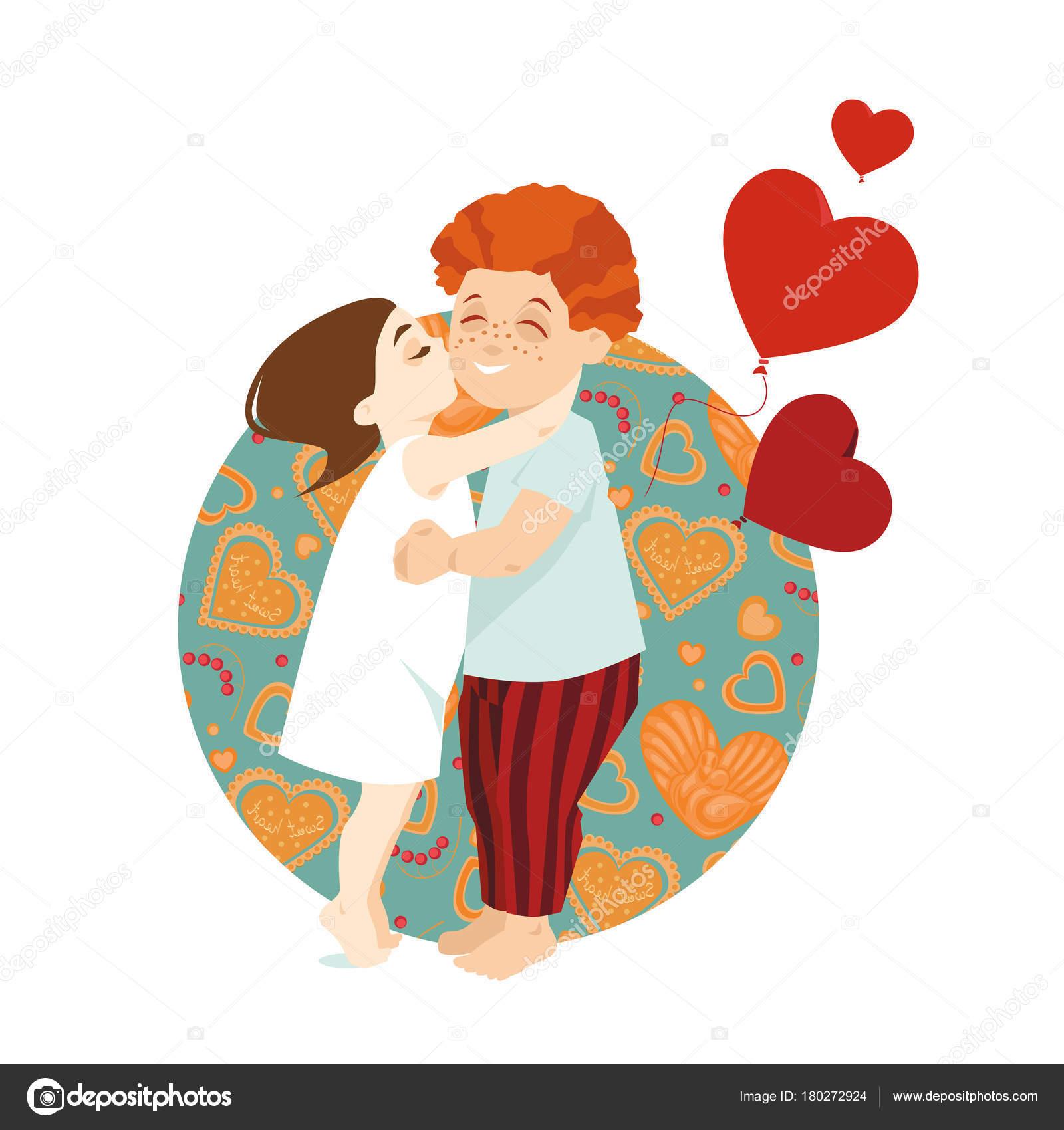 Imagenes De Dos Jovenes Enamorados Animados