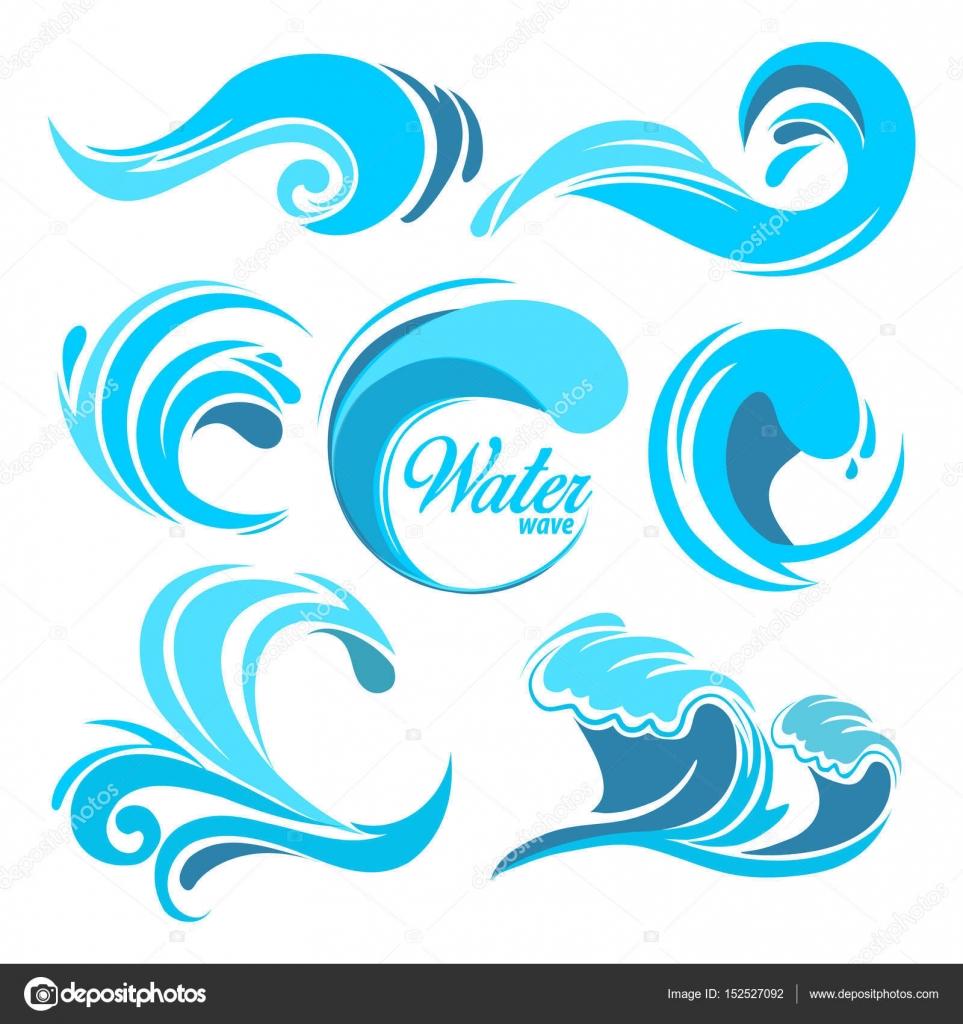 ocean wave graphic
