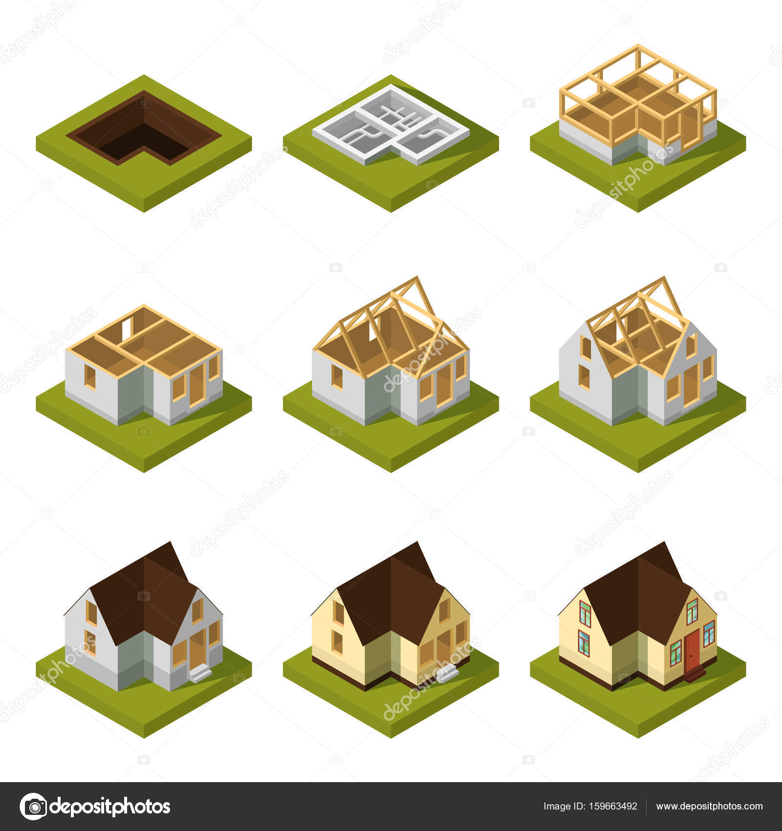 Phases Of Building A House