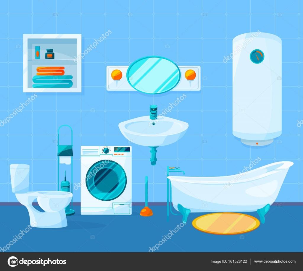 Imágenes Animadas De Limpieza De Baños Limpiar El Interior