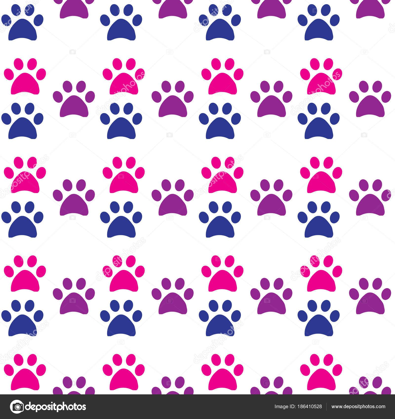 Huellas de gato y perro | Pata Impresión Perfecta Huellas Gato Perro ...