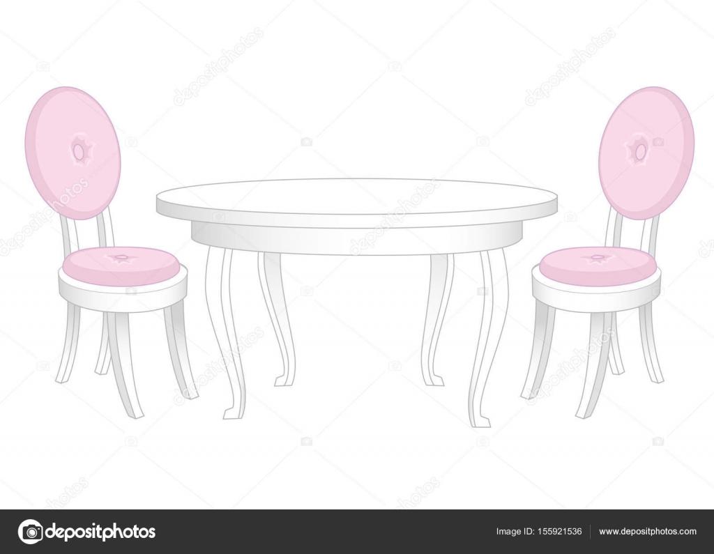 Ess-Set. Esstisch und Stühle — Stockvektor © anya.pic-o-matic.ru ...