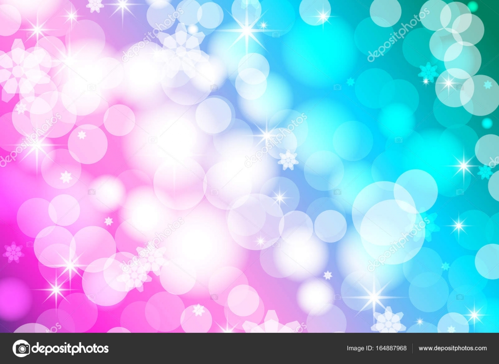 Vivid Bokeh In Soft Color Background With Highlights Vector