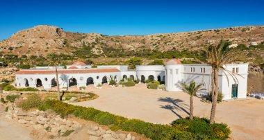 Historical buildings in Kalithea springs (Rhodes, Greece)