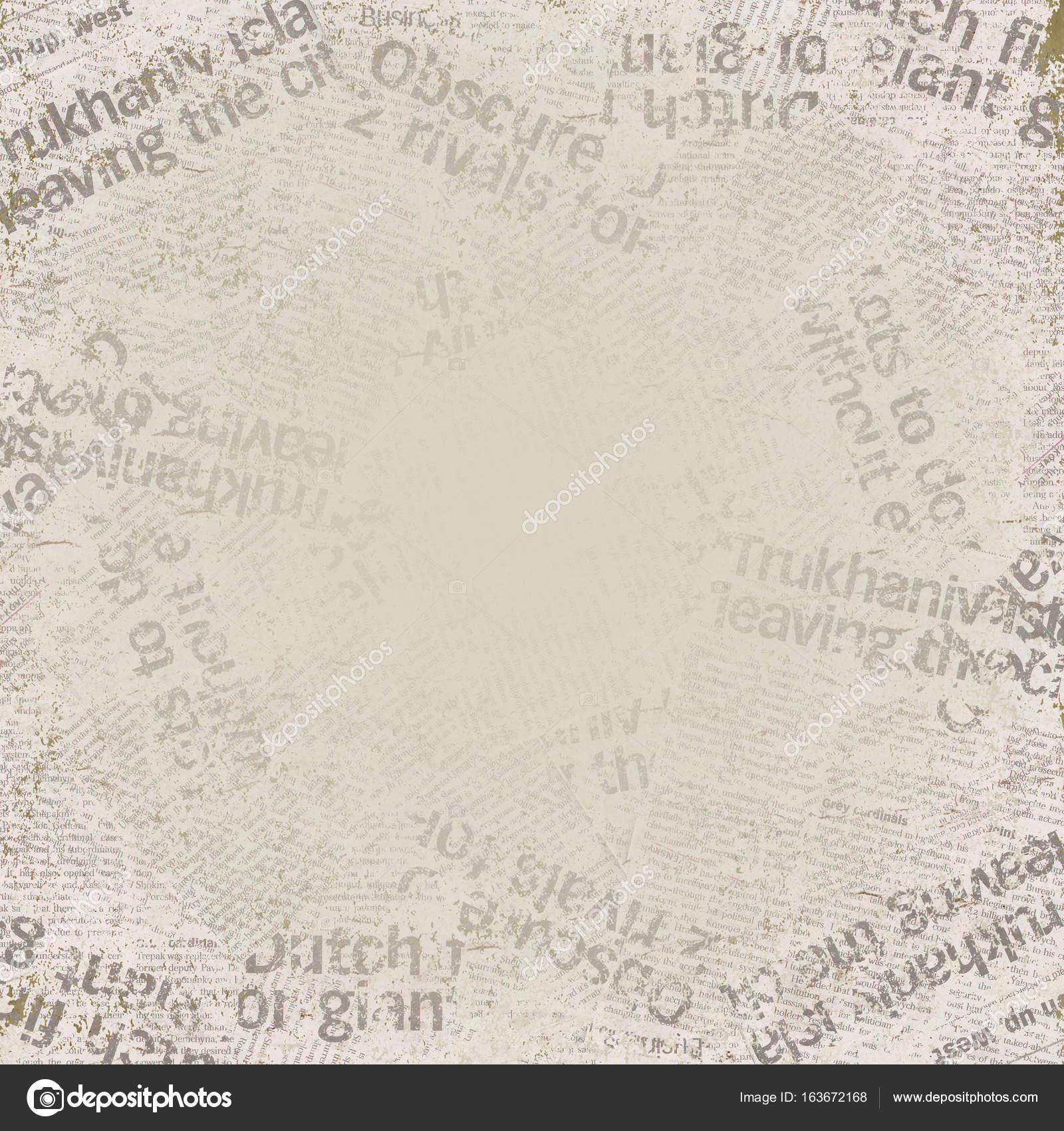 grunge old newspaper background — stock photo © olgaze #163672168