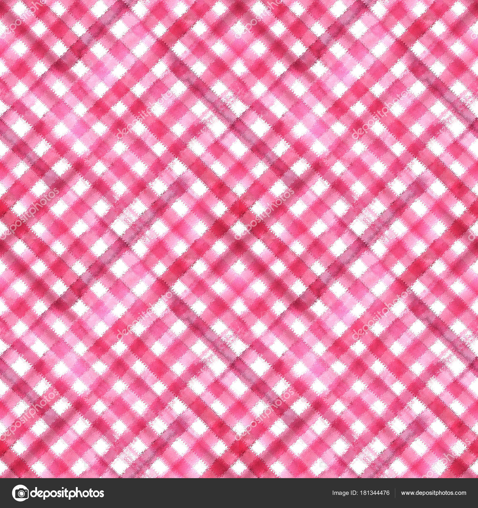 Depositphotos 181344476 Stock Photo Pink And White Plaid Background