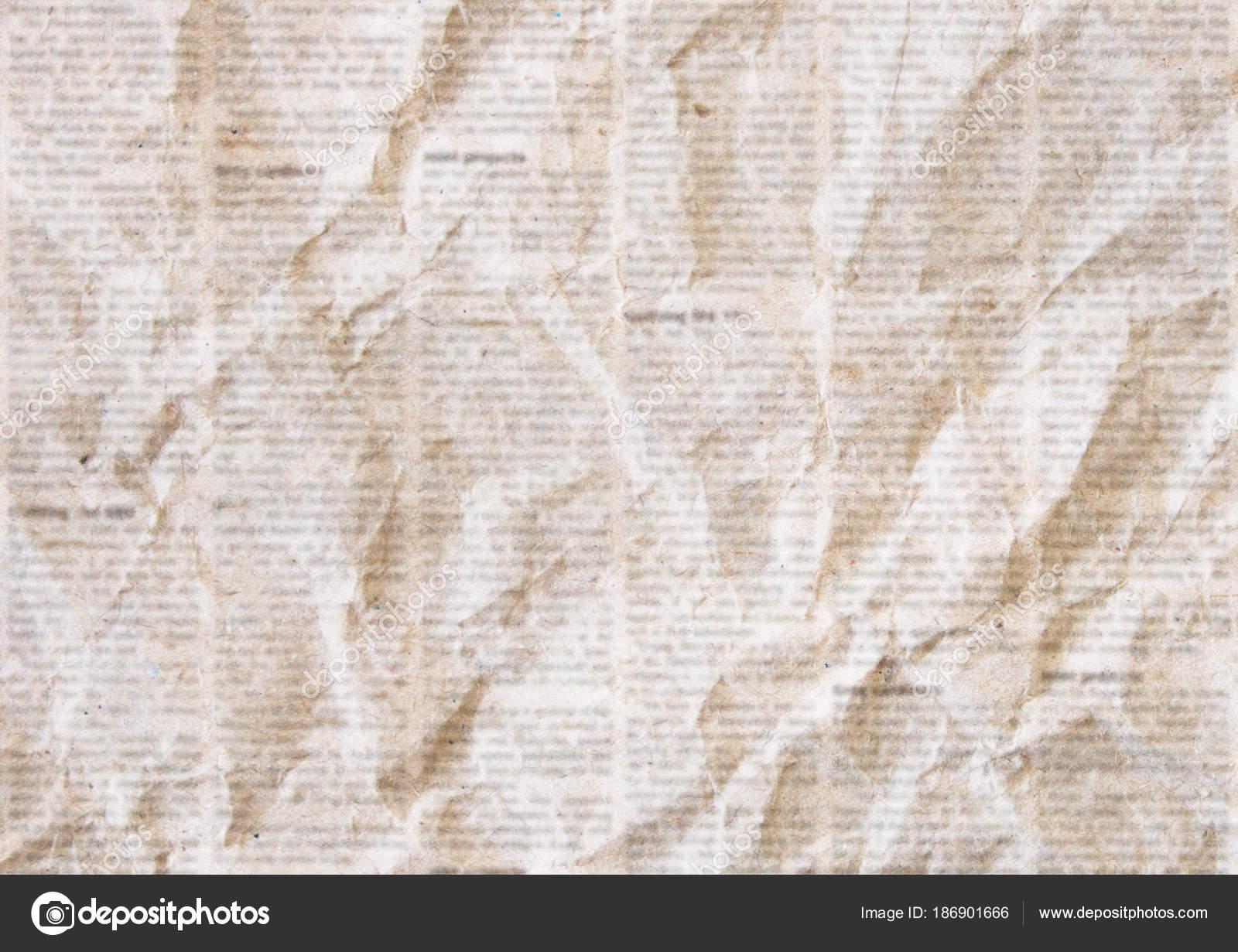 Eski Burusturulmus Gazete Doku Arka Plan Stok Foto