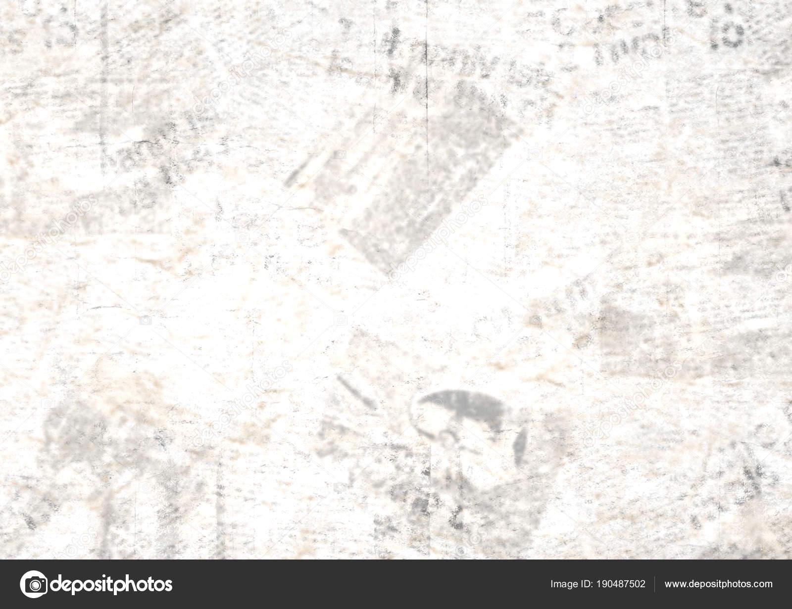 Vintage Grunge Newspaper Collage Background Stock Photo Olgaze