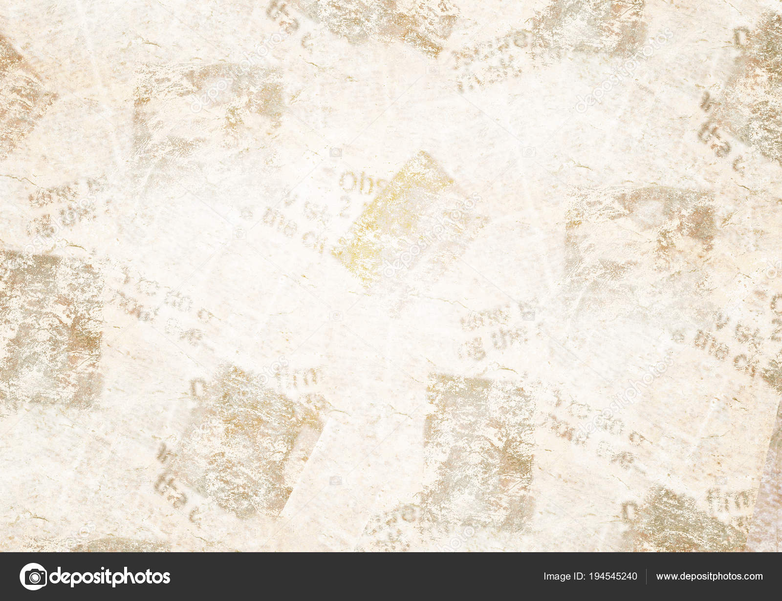 old grunge newspaper collage background — stock photo © olgaze