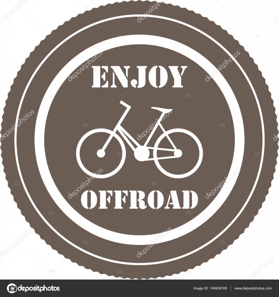 Enjoy Offroad Message Stock Vector C Tacka 149436108