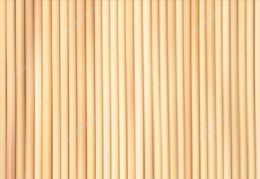 Texture légère de bambou. Fond de tapis bambou jaune. Lattes de bois ...