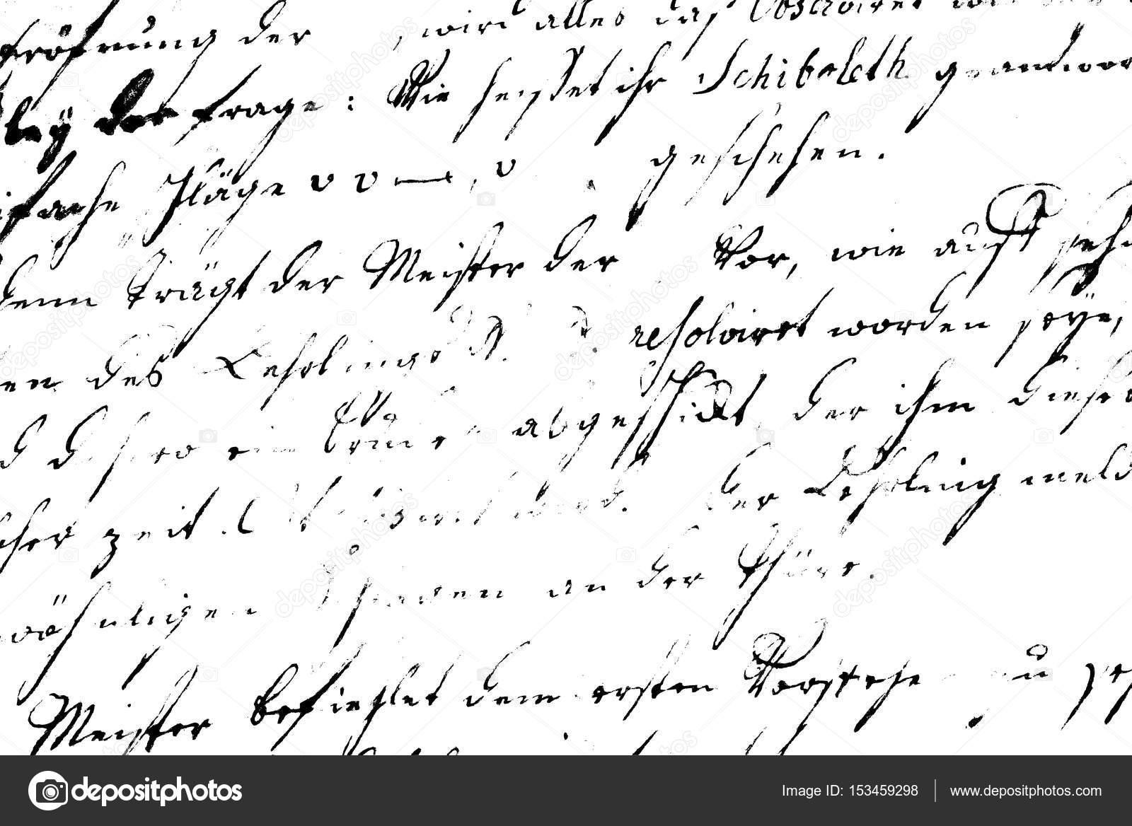 imprimir texto Vintage - plantilla de escritura ilegible — Fotos de ...