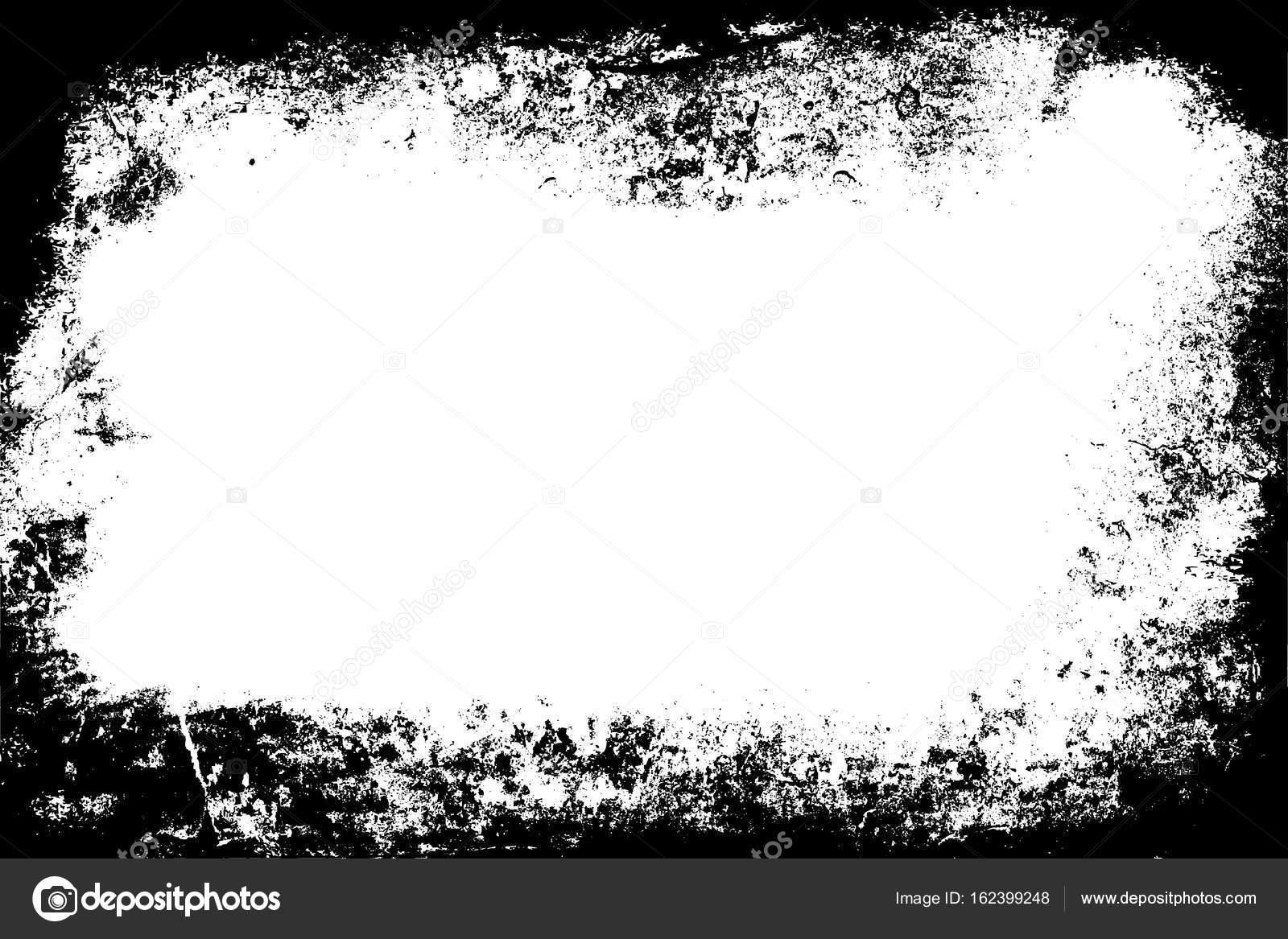 Dirty Black Burnt Edge Of The Paper Template Grunge Background Vintage Burnt Frame Background Hard Rough Old Grunge Wall Stock Image