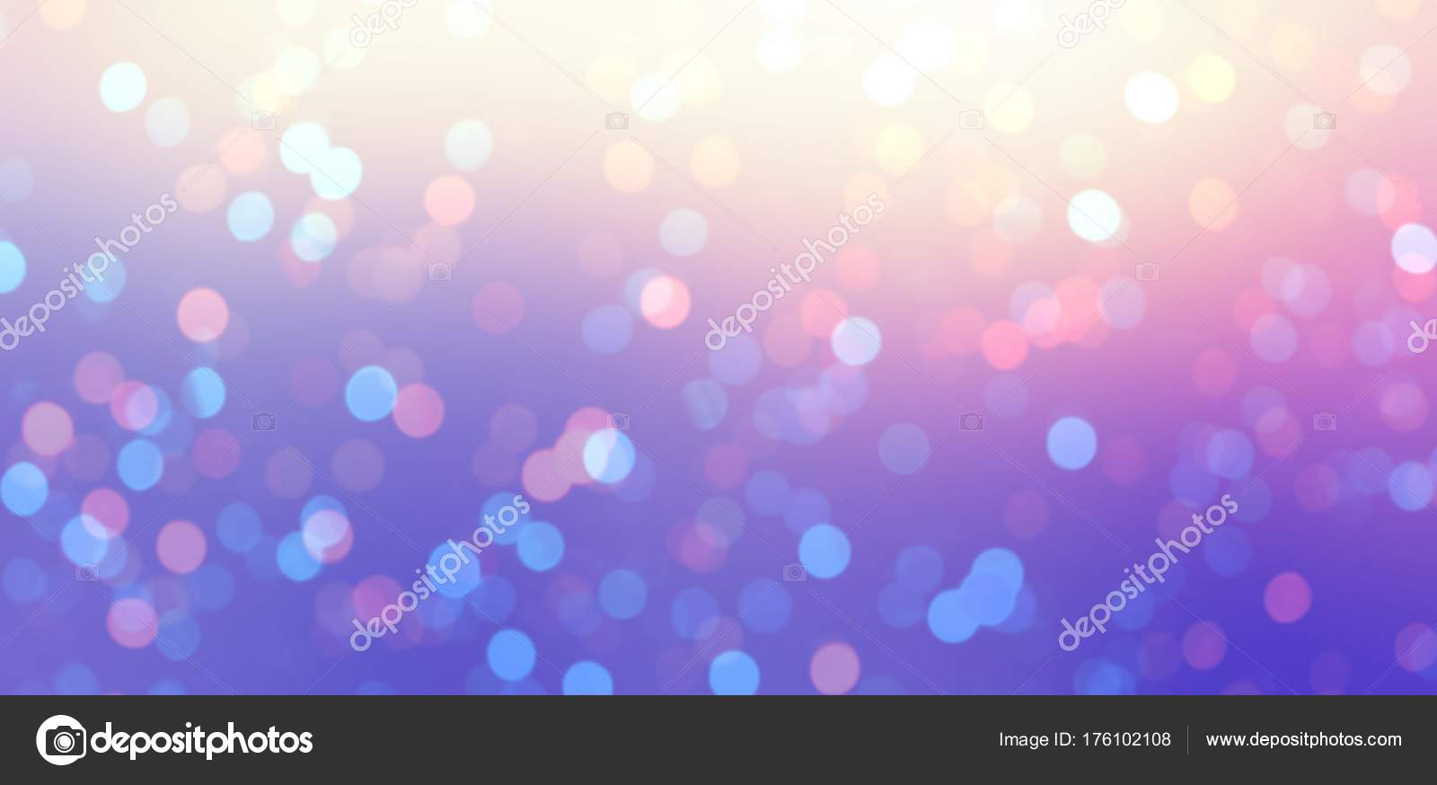 iridescent bokeh luxury banner new year night empty background glitter stock photo