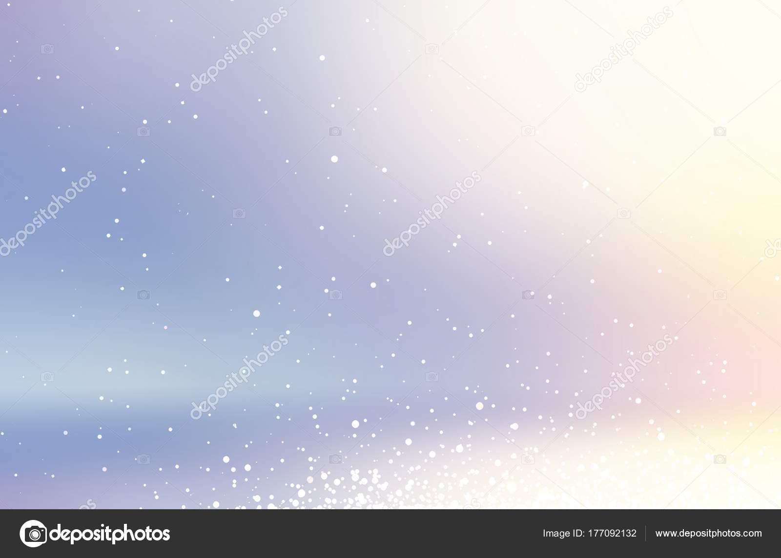 積雪抽象的な イラスト 冬の空の背景 虹色多重空間 休日の装飾を輝き 紫