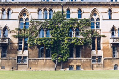 Exterior of the Meadow Building, Christ Church College