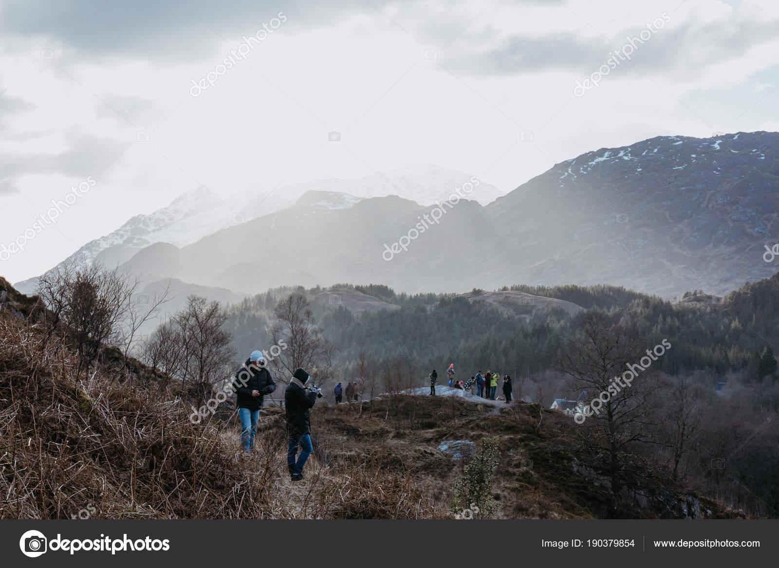 Schottland März