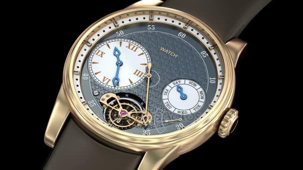Gold luxury watch. Generic 3D model, my own design.