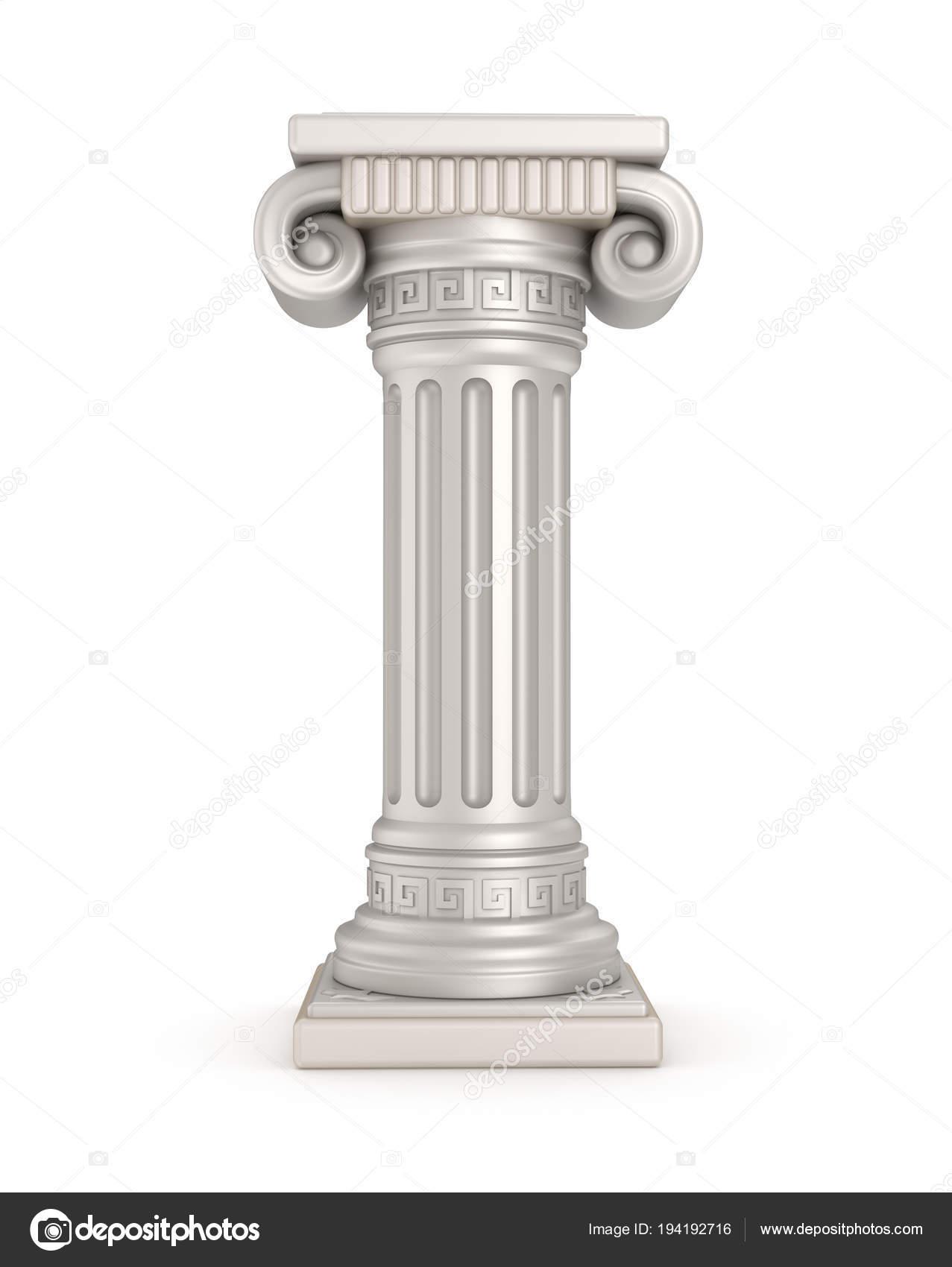 Ancient Pillar Illustration — Stock Photo © Alexmit #194192716
