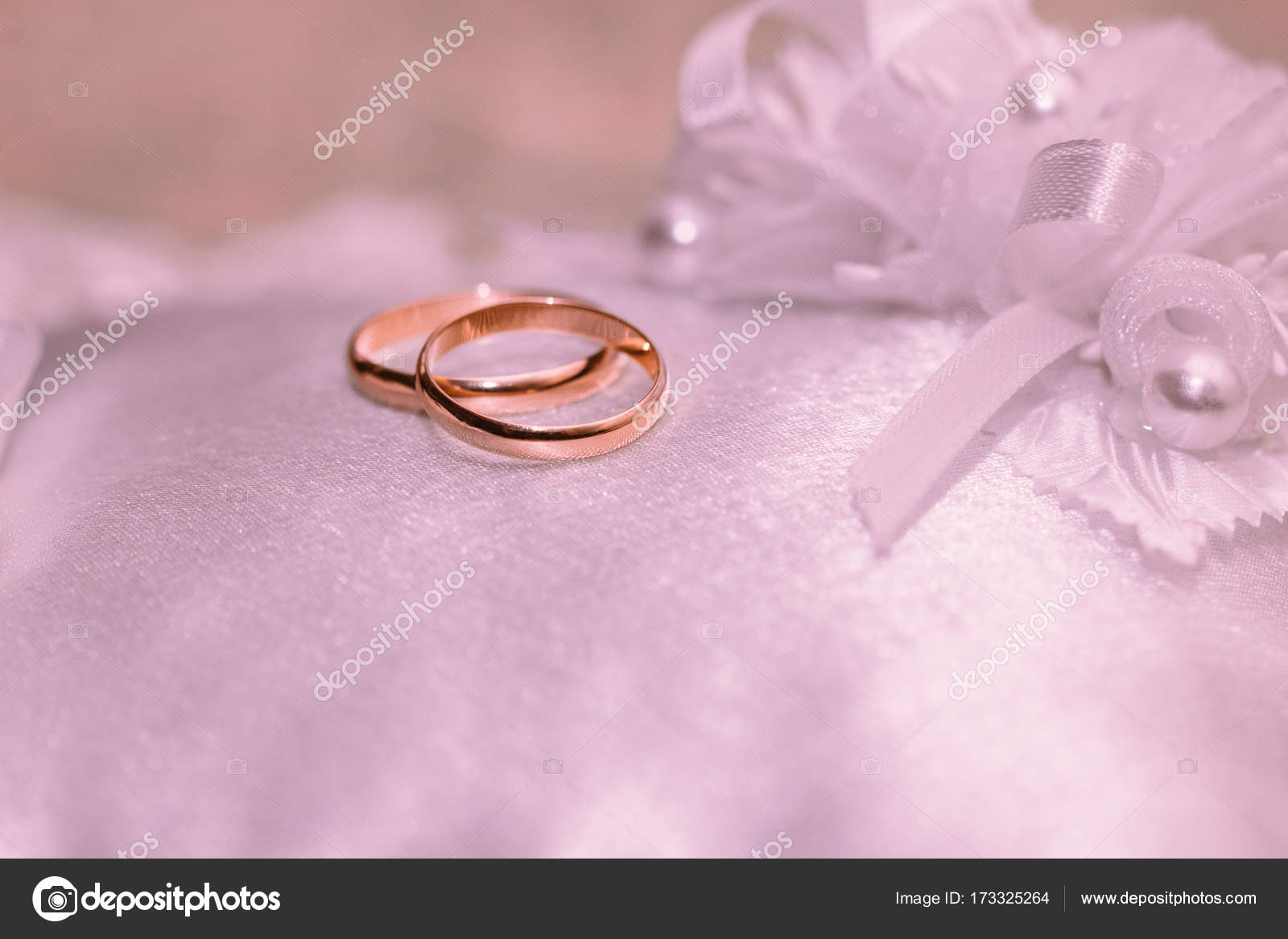 Beautiful wedding rings close-up — Stock Photo © Zayne_C. #173325264