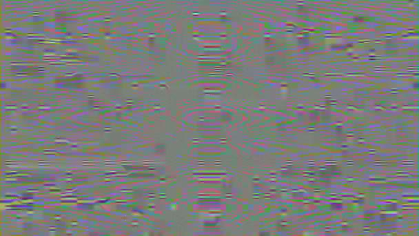 Bolyhos homályos háttér, utánzása analóg interferencia egy törött TV.