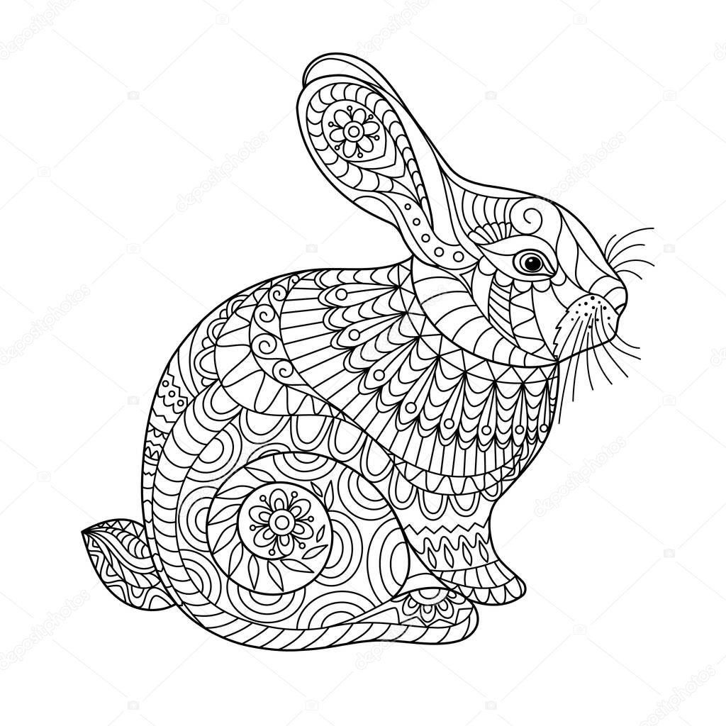 malvorlagen für kinder und erwachsene kaninchen kreative