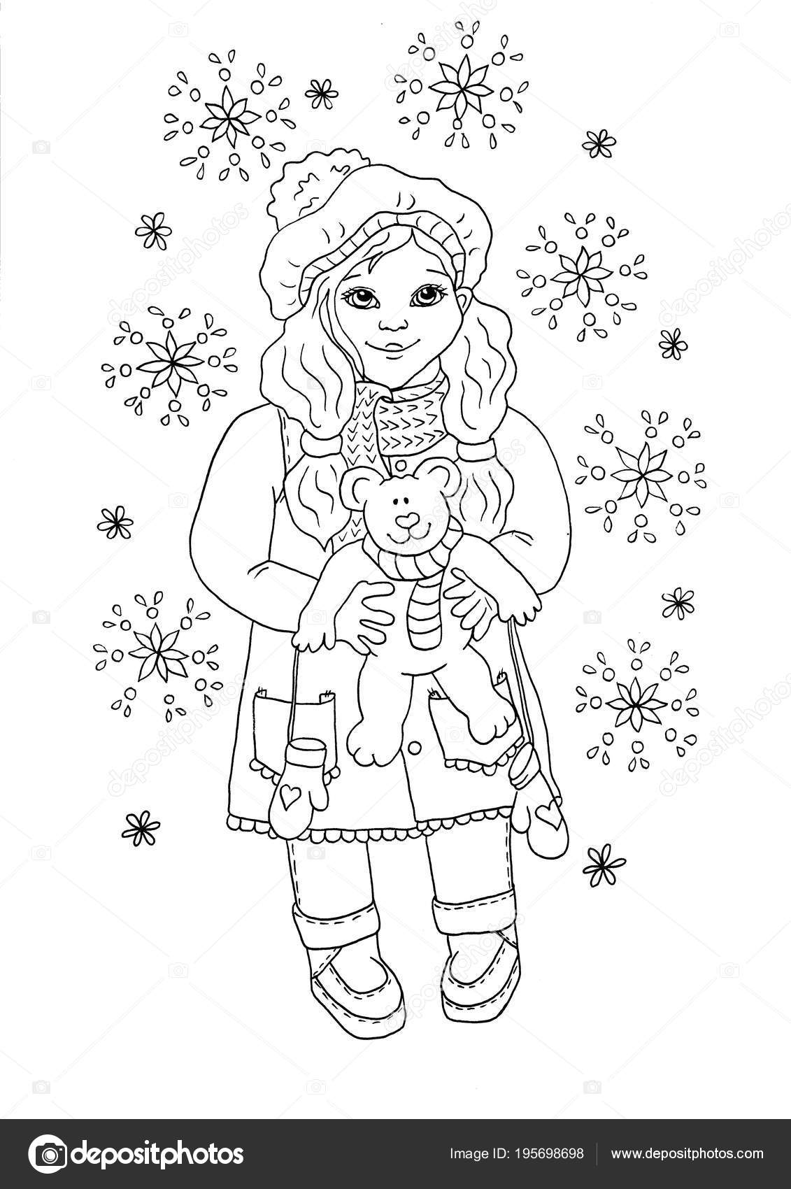 Baby Girl Coloring Pages - Coloring Home | 1700x1131