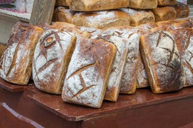 Traditional breds at St. Dominic's Fair in Gdansk, Poland.