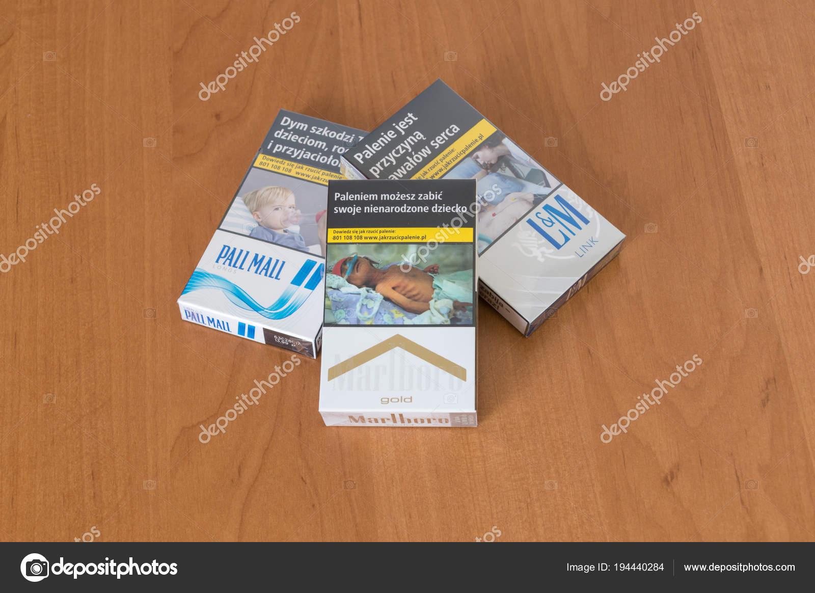 Marlboro cigarettes shipped to London