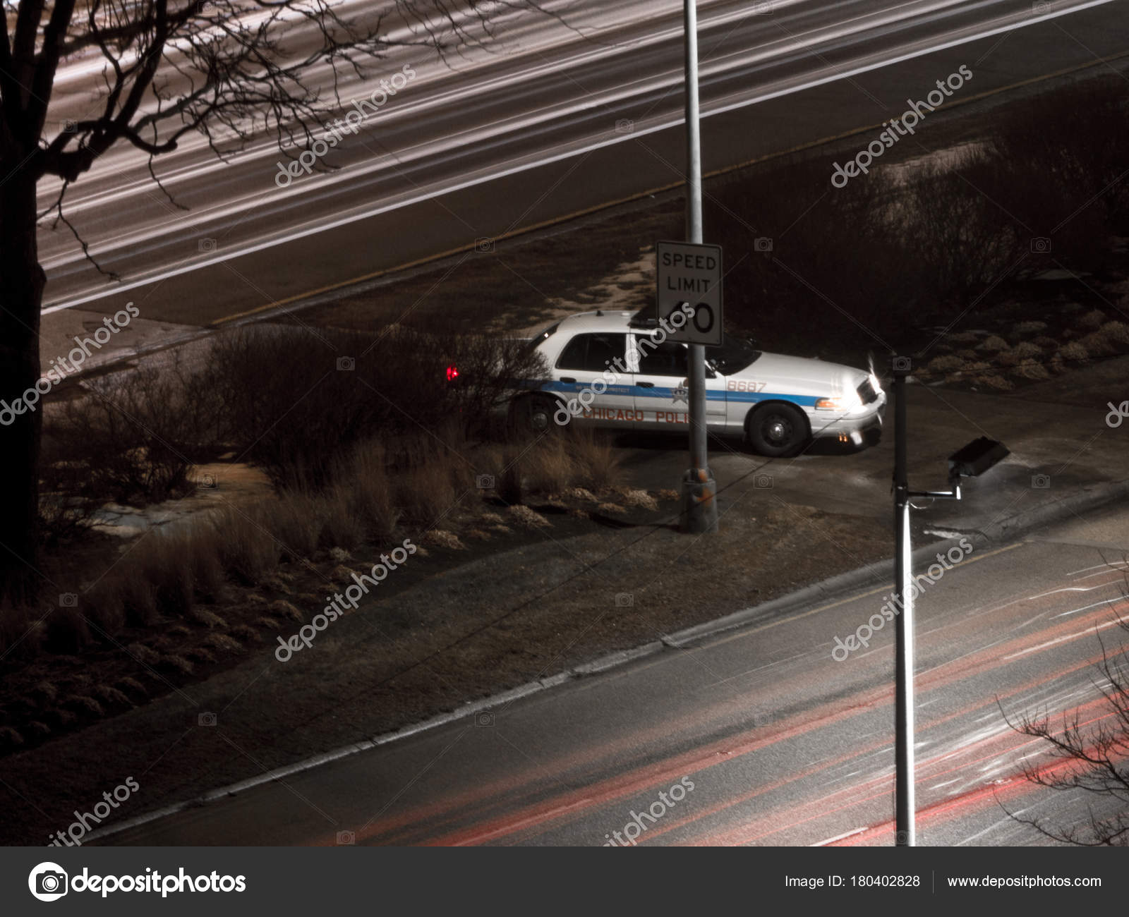 Chicago January 9th 2018 Chicago Police Squad Car Watches Vehicles Stock Editorial Photo C Jkirsch13 180402828