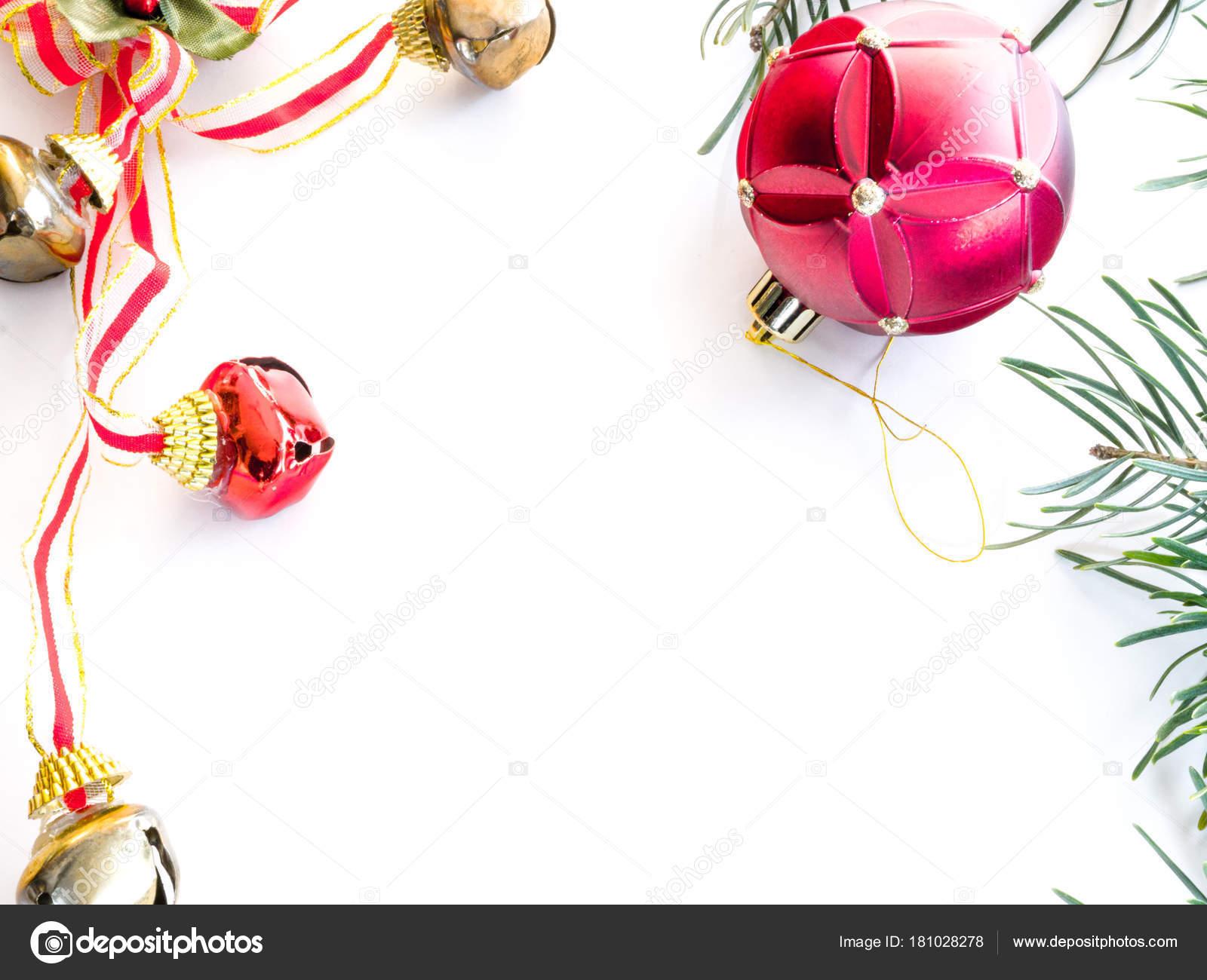 Beautiful Christmas Holiday Border Evergreen Pine Needle