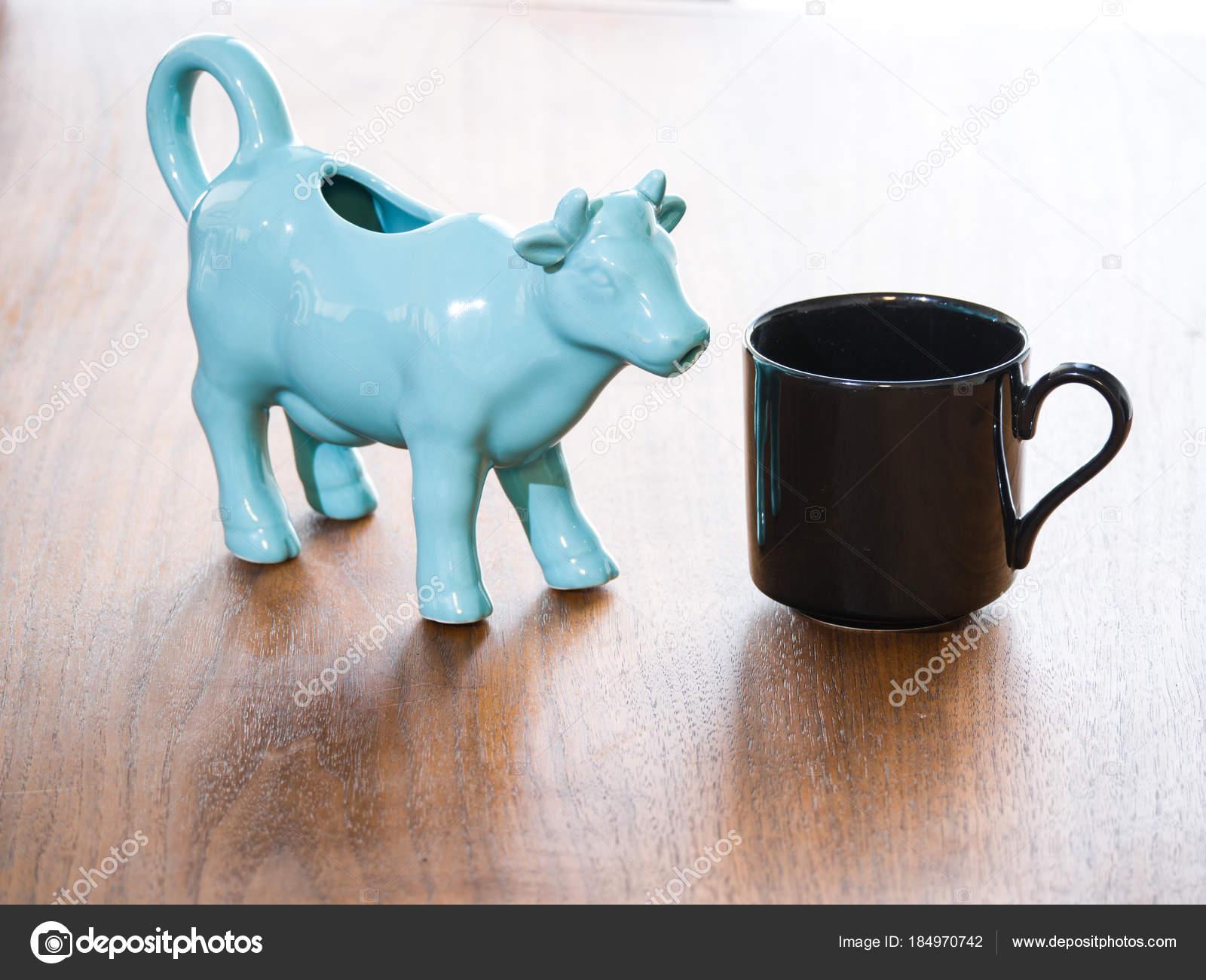 Une Porcelaine Noir Bleu Céramique Thé Bouchent Vue Mug Tasse J13TFKlc
