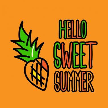 Hello Sweet Summer Poster