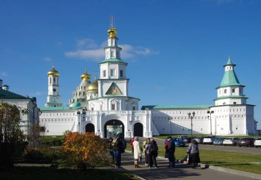 ISTRA, RUSSIA - October, 2019: The New Jerusalem Monastery, also known as the Voskresensky Monastery