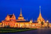 Fényképek Phra Meru, Thai royal krematórium, Bangkok, Thaiföld