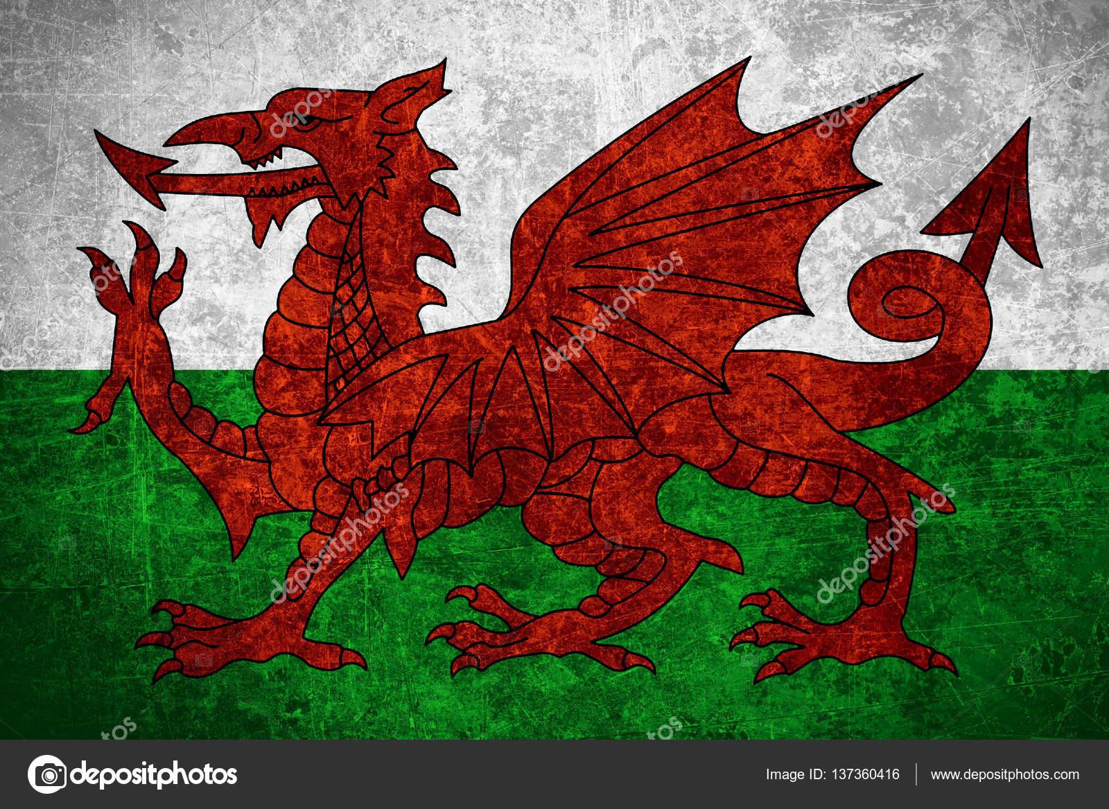 Bandera de Gales — Fotos de Stock © Miro-Novak #137360416