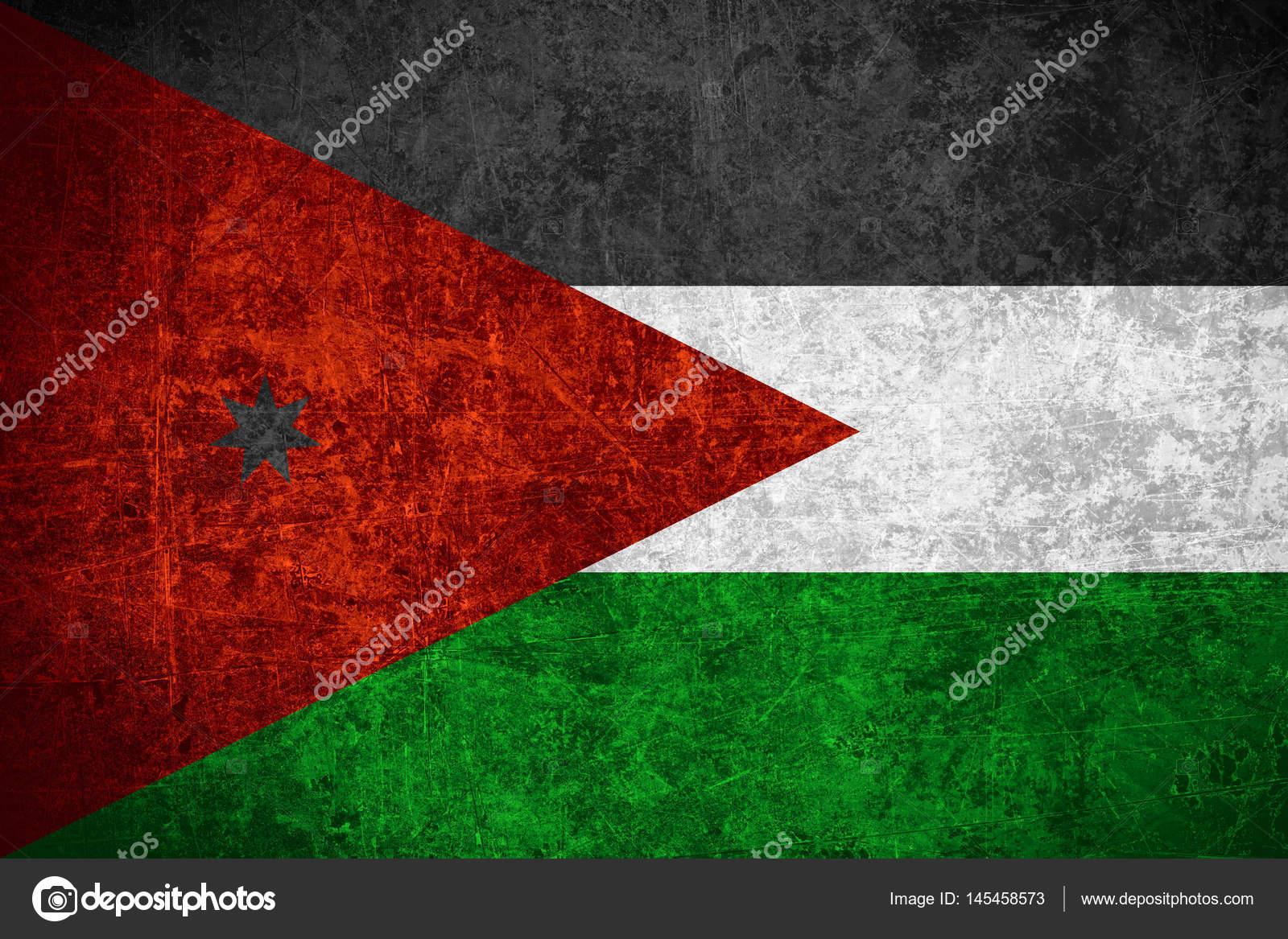 flag of jordan stock photo miro novak 145458573