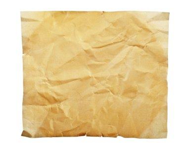 "Картина, постер, плакат, фотообои ""старая бумага на белом фоне"", артикул 126170710"