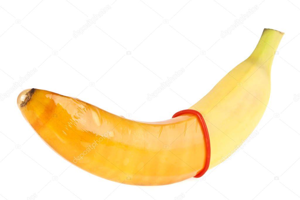 Banana in the dick