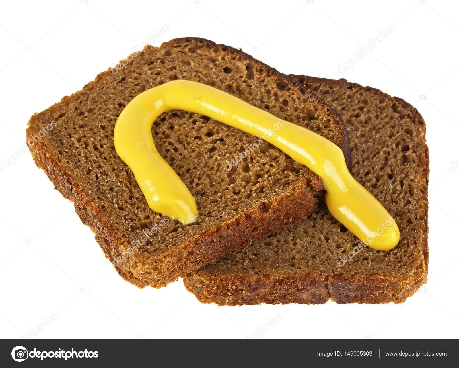 Une tranche de pain de seigle calorie