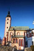 Fotografie Banská Bystrica staré město mezník gotický kostel na Slovensku
