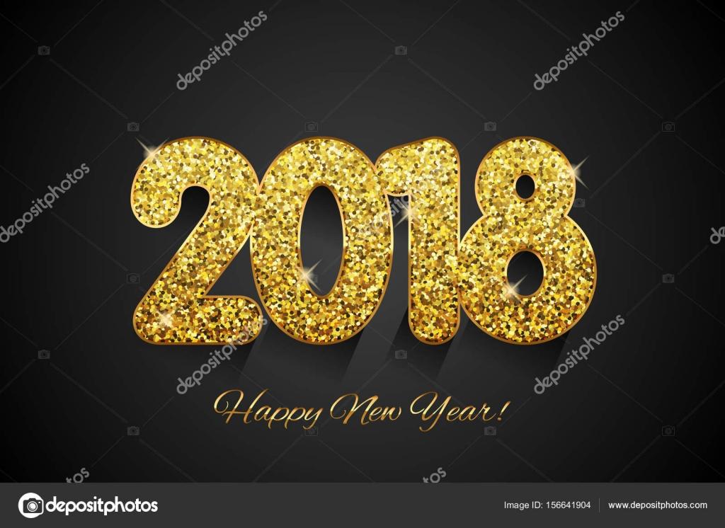 heureuse nouvelle ann e 2018 nouvel an fond image vectorielle yuliaglam 156641904. Black Bedroom Furniture Sets. Home Design Ideas