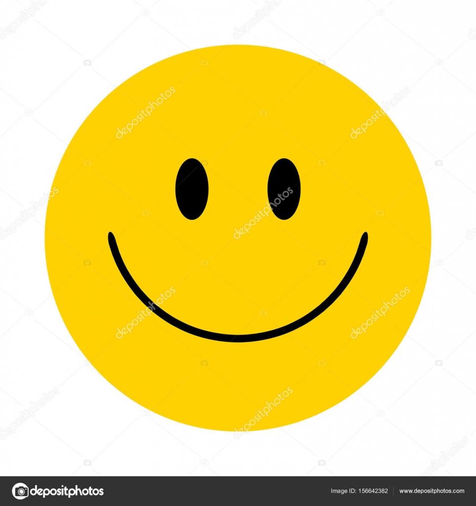smiley vector happy face stock vector yuliaglam 156642382 rh depositphotos com smiley face vector icon vector smiley face with thumbs up