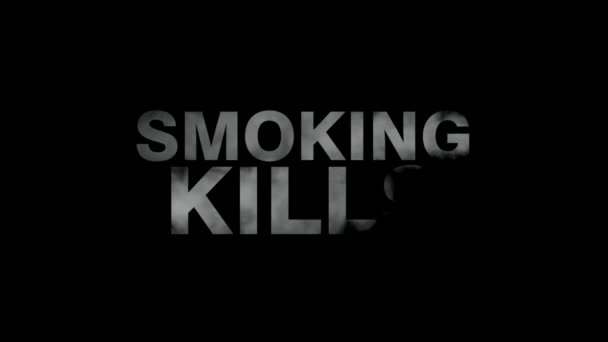 Smoking Kills Video