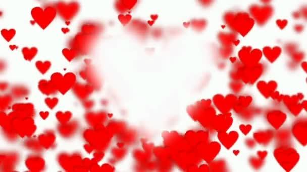 Smyčky animace překrýt srdce