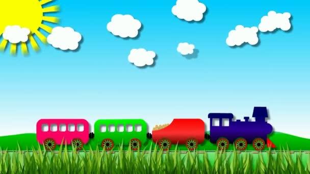 Tvořili kreslený vlak na cestě