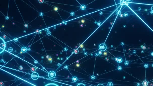 Motion Graphic Network Connection Background Animation Global Network Data  Connections ⬇ Video by © sergius@sarov.info Stock Footage #339623948