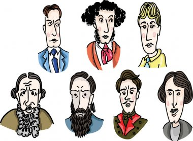 Great Russian writers